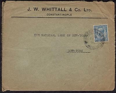 GB #163 Posted in Turkish Empire January 13 1920 Constantinople to USA