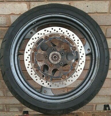 Suzuki Gs500 Front Wheel With Tyre And Disc