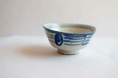Antique Chinese Porcelain Cup Bowl Teacup With Blue and White pattern