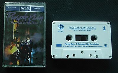 PRINCE AND THE REVOLUTION   PURPLE RAIN  Cassette Tape   SUPER RARE!!!!