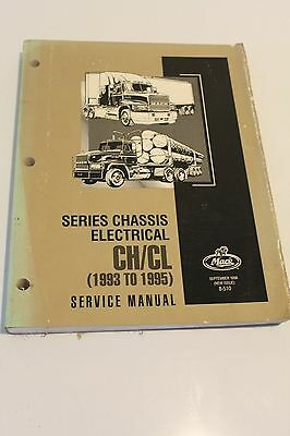 Mack Series Chassis Electrical CH/CL (1993 to 1995) Service Manual