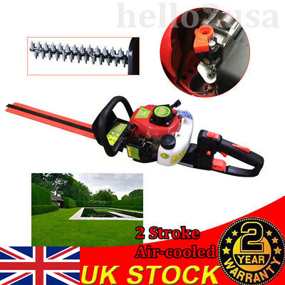 1.25HP Garden Hedge Trimmer Petrol Strimmer Chainsaw Brushcutter Multi Tool New