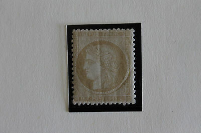 RARE timbre France neuf** N°59 cote 700€