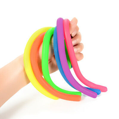 5/10Pcs Stretchy String Toys Autism ADHD Sensory Anti Stress Anxiety Relief