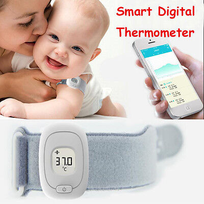 Universal iSee Household Bluetooth4.0 Monitoring Baby Smart Digital Thermometer