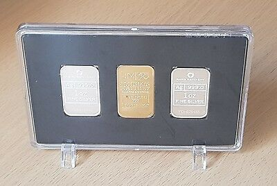1 oz Gold/Silver Bar Presentation Case (case only)