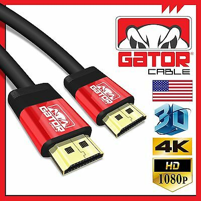 High Speed HD HDMI Cable Cord UHD HDR 4K 3D 1080P Ethernet HDTV LED PS4 XBox lot
