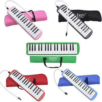 New 32 Piano Keys Melodica Musical Instrument for Beginners with Bag 5 Colors