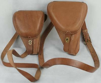 WW2 Japanese Nambu Pistol leather holster - smaller size(REPRO)