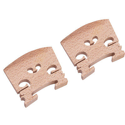 Hot Sale High Quality Violin Bridge 4/4 Size Maple Violin Accessories