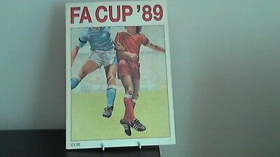 Fa Cup '89 - Football Programme
