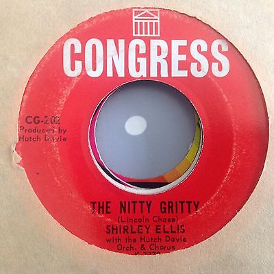 Shirley Ellis - The Nitty Gritty / Give Me A List -Congress Cg-202. Vg+