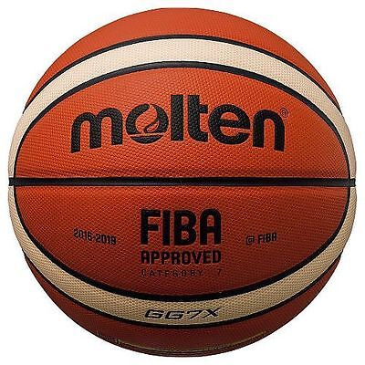 Molten GG7X Basketball FIBA Approved Official Ball BBL - COMES DEFLATED - NEW