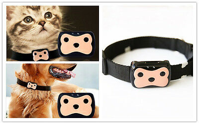 GPS Tracker Pet Dog Cat Mini Tracking  Collar Device Waterproof 300 Hours LBS