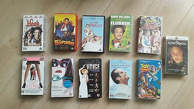 Job Lot Movies / Films  on  VHS Tapes