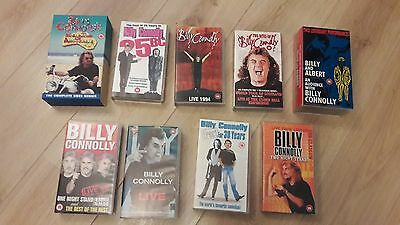 Job Lot of Billy Connolly Collection on VHS Tape