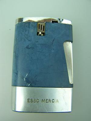 Esso Mercia UK oil tanker launch souvenir Ronson cigarette lighter 1967     1166