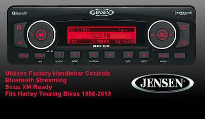 Jensen Plug N Play Stereo Upgrade for Harley Touring Harman Kardon Replacement