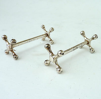 Vintage Silver Knife Or Cutlery Rests Traditional Form