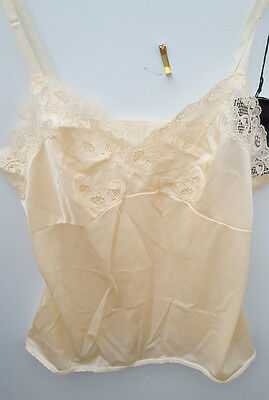 "Vintage Camisole Top BYellow  - Brettles (New Not Worn) Size (Bust 36"")"