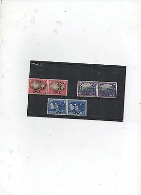 Stamps. South West Africa. 1946. Victory. Overprints. Set. MLH.