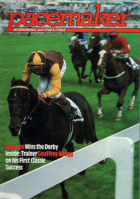 Pacemaker Magazine July 1983- vintage horse racing publication