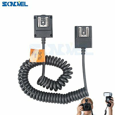 Godox 3M TTL Off-Camera Hot Shoe Flash Sync Cord For Canon 600EX 430EX 580EX II