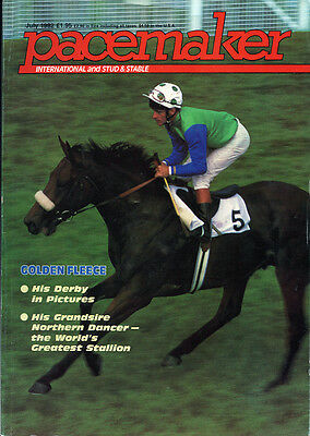 Pacemaker Magazine July 1982 - vintage horse racing publication