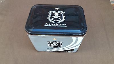South African Soccer. Official Orlando Pirates Football Club Coffee Tin