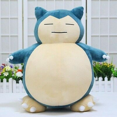 "Pokemon Go Snorlax 19.7""/50cm Plush Soft Teddy Stuffed Dolls Kids Toy New"