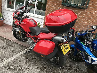 2009 Ducati Multistrada 1100S Red