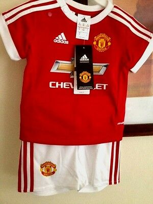 adidas Manchester United Home Kit 2016 for Baby Size 6-9 Month New WithTag