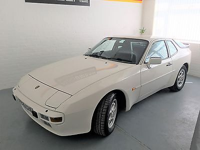 Porsche 944 2.7 coupe. Very low mileage and low owner example
