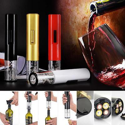 Wine Opener Automatic Electric Opener Corkscrew Cordless Cutter Bar Tool