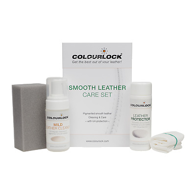 COLOURLOCK Leather Cleaner & Protector Conditioning Kit