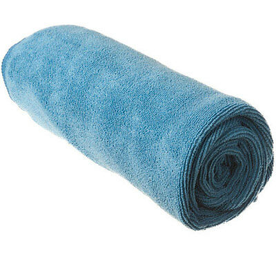 Sea to Summit Tek Towel Large in Pacific Blue - Super Absorbent, Fast Drying