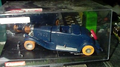 1/32nd scale CUSTOM SLOT CAR W/Scalextric Chassis 1930's Vintage Car USED