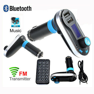 Bluetooth Car Kit MP3 Player FM Transmitter Wireless Radio Adapter USB Charger