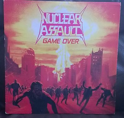 NUCLEAR ASSAULT~'Game Over'~L.P.~Rock,Death Metal, metal,Heavy,FIRST PRESS~A1~B1