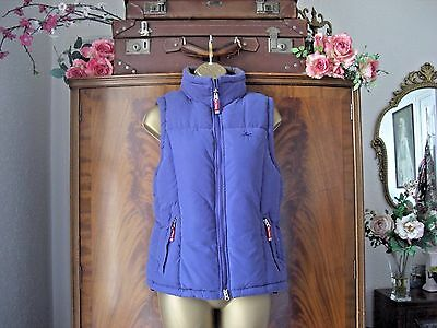 Equi Theme XS Quilted Padded Gilet PURPLE HORSE RIDING GILET Ref HG