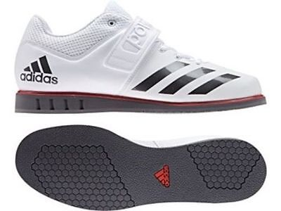 adidas Powerlift 3.1 Mens Weight Lifting Shoes - White - Free P&P