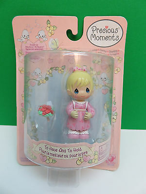 Precious Moments - Flower Girl - To Have And To Hold - 2003 Figure #36100 - NEW!