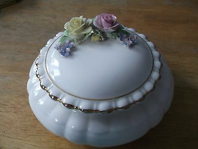Adderley bone china made in England trinket box