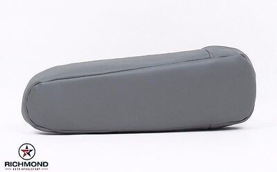 1996 Ford Bronco XLT 2WD 4X4 -Driver Side Replacement Leather Armrest Cover GRAY