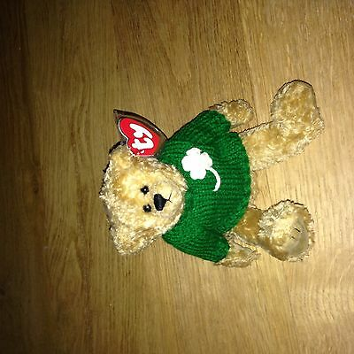 Ty Mint with Tag Irish Blarney Attic Treasure protected collection 1993 Bean Bag