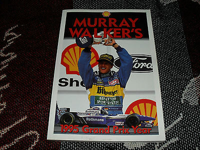 Murray Walker's 1995 Grand Prix Year - F1 Review Book