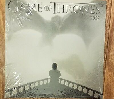 Game of Thrones HBO 2017 promotional sealed Calendar