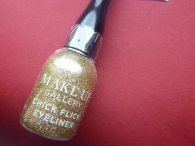 Gold Eyeliner NEW Makeup Pro Liquid Eye Liner Gold Glitz 6 Party Glam Glitter