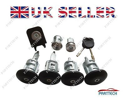 FORD TRANSIT MK6 2000-2006 COMPLETE LOCK SET and 2 KEYS - FULL SET - 8 pieces