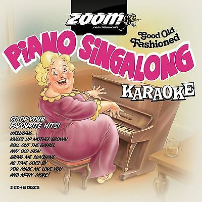 Zoom Karaoke 60 Piano Singalong Favourites 2 Disc CD + G Set New Sealed